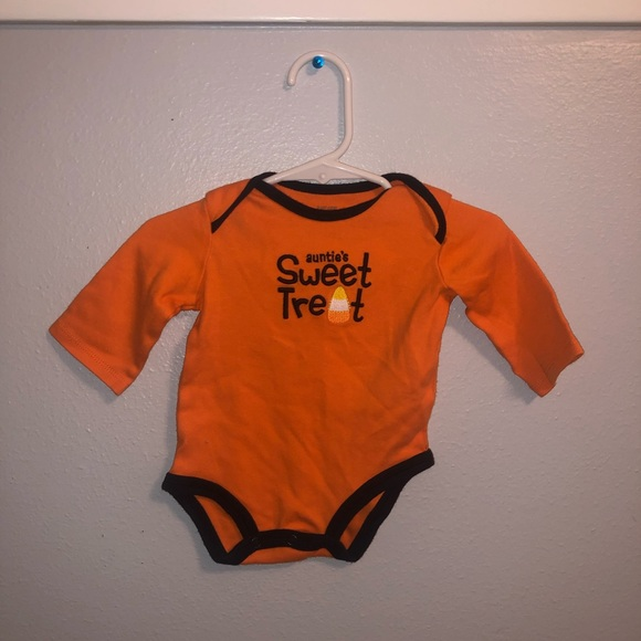Halloween Carters Auntie/'s Sweet Treat Infant Bodysuit SIZE 3 Months or 9 Months
